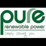 pure renewable power logo